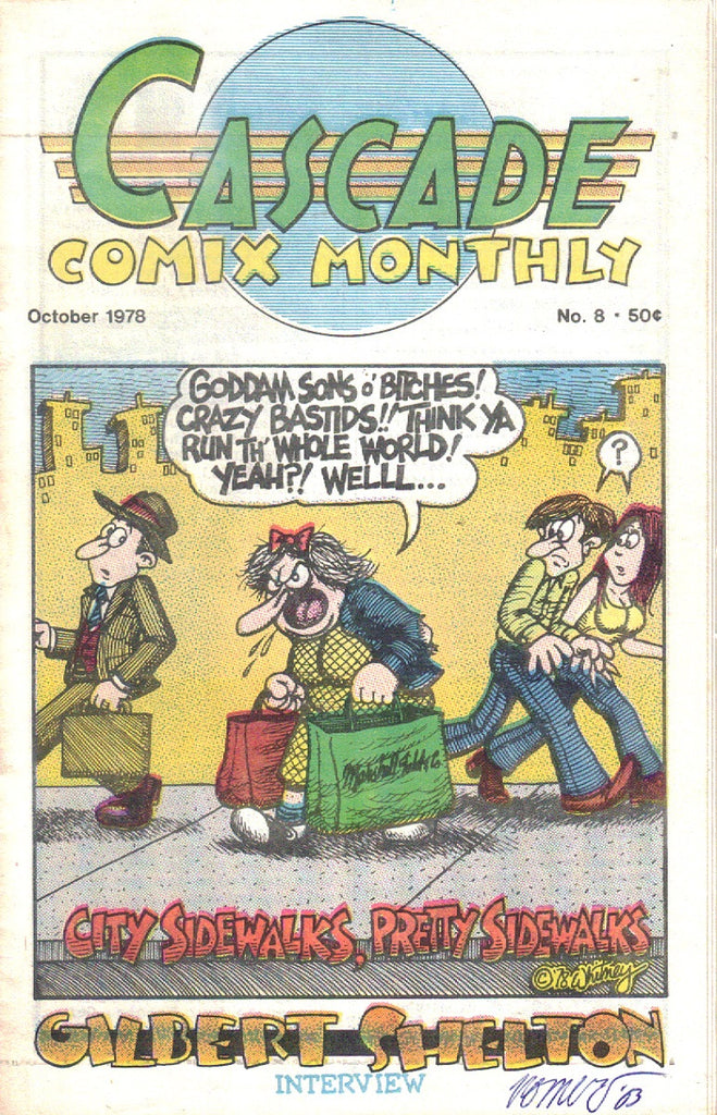 Cascade Comix Monthly #  8 - signed