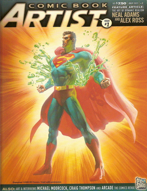 Comic Book Artist Vol 2 # 1, July 2003