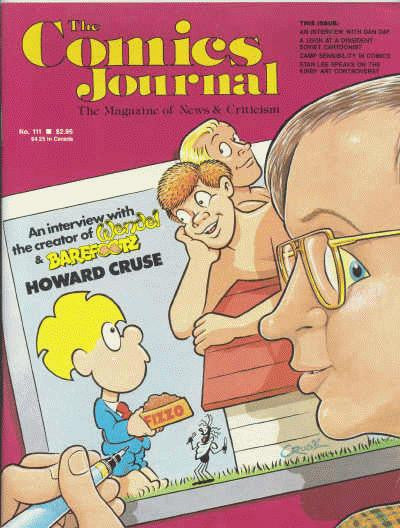 The Comics Journal # 111 - September 1986