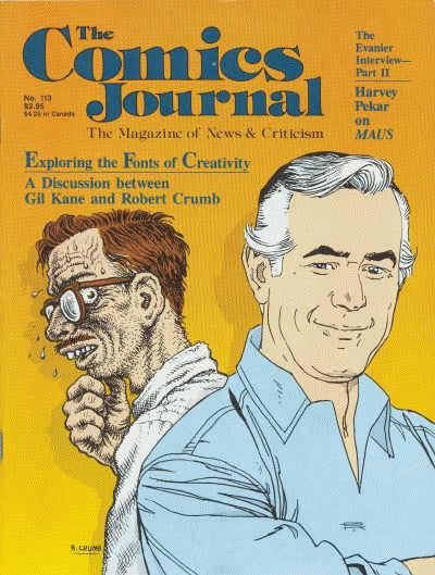 The Comics Journal # 113 - December 1986