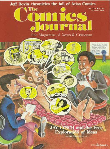 The Comics Journal # 114 - February 1987