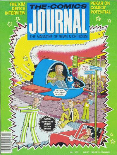 The Comics Journal # 123 - July 1988