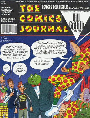 The Comics Journal # 157 - March 1993