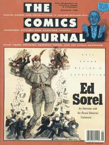 The Comics Journal # 158 - April 1993