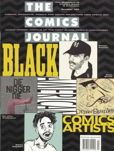 The Comics Journal # 160 - June 1993