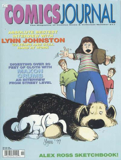 The Comics Journal # 217 - November 1999