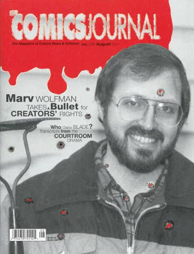 The Comics Journal # 236 - August 2001