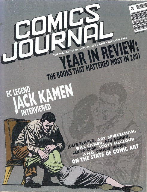 The Comics Journal # 240 - January 2002