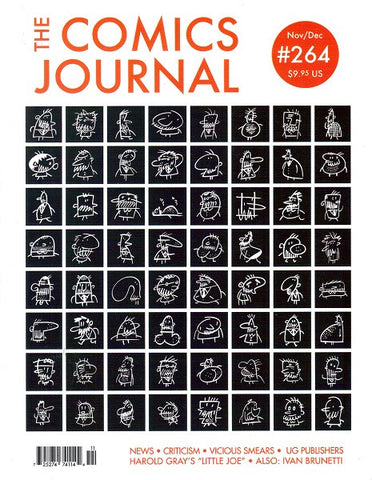 The Comics Journal # 264 - Nov/Dec 2004