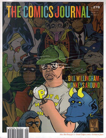 The Comics Journal # 278 - October 2006