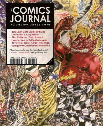 The Comics Journal # 293 - November 2008