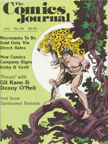 The Comics Journal #  64 - July 1981