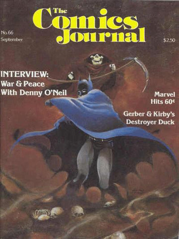 The Comics Journal #  66 - September 1981