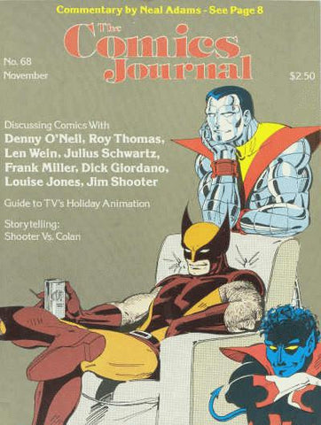 The Comics Journal #  68 - November 1981