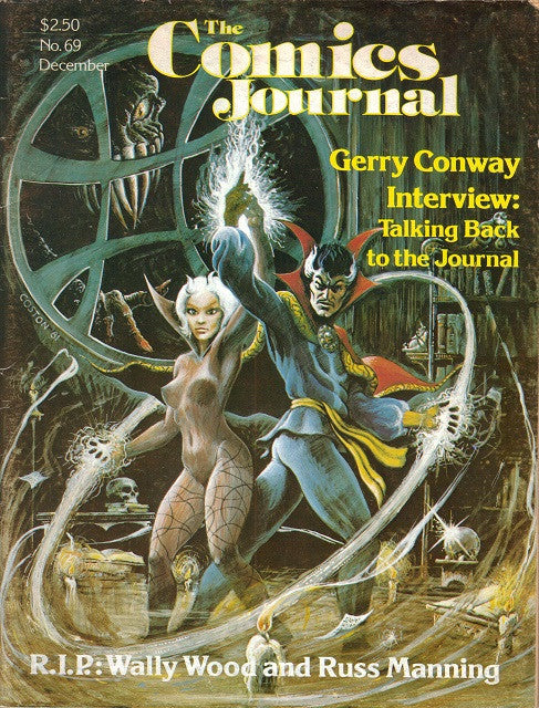 The Comics Journal #  69 - December 1981