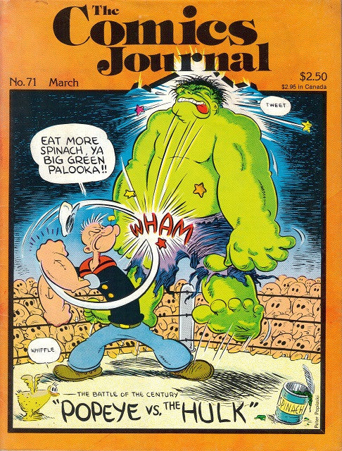 The Comics Journal #  71 - March 1982