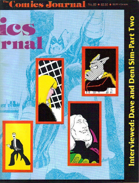 The Comics Journal #  83 - August 1983