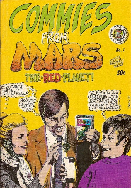 Commies From Mars # 1