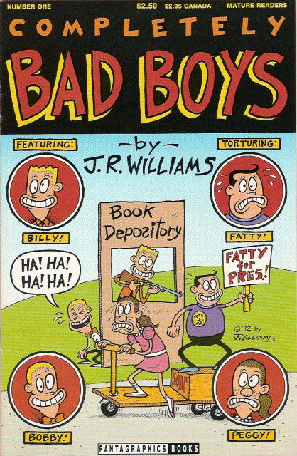 Completely Bad Boys # 1 - J. R. Williams