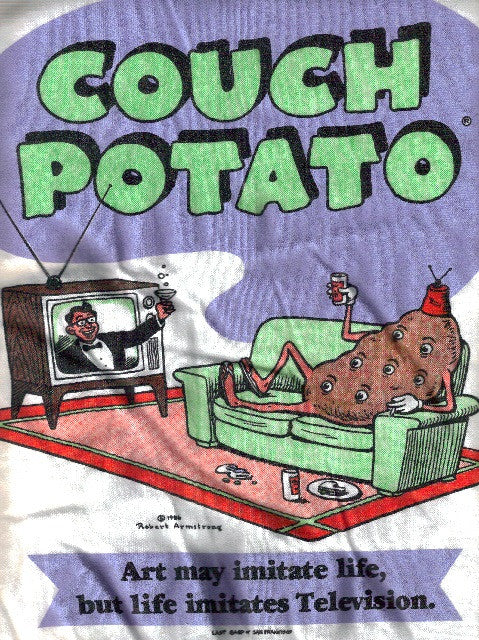 Couch Potato, Vintage T-Shirt - XL*
