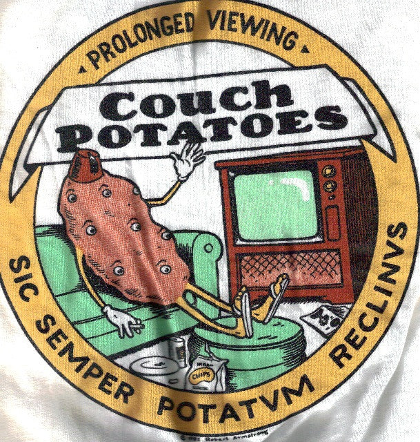 Couch Potatoes, Vintage T-Shirt - Large*