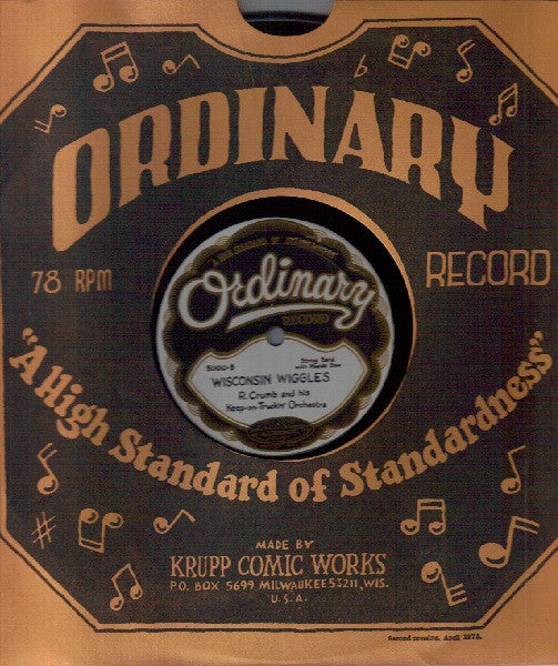 R Crumb 78 rpm Ordinary Record