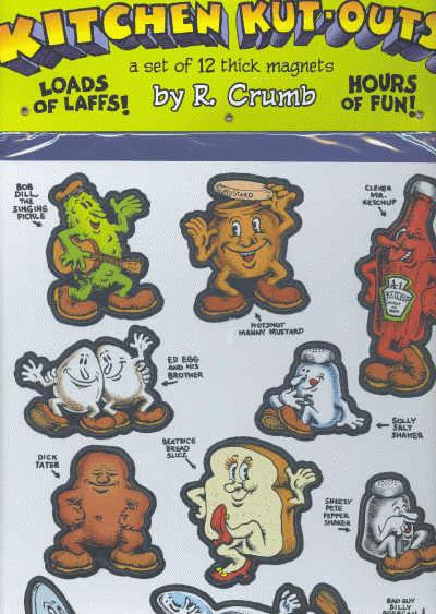 Kitchen Kut-Outs! - R. Crumb