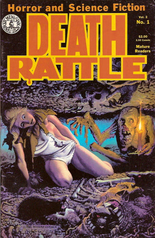 Death Rattle, volume 2, #  1