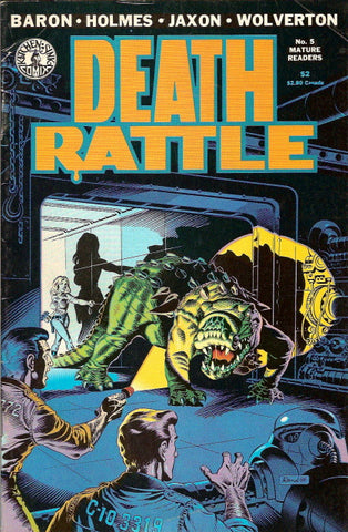 Death Rattle, volume 2, #  5
