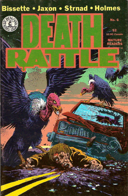 Death Rattle, volume 2, #  6