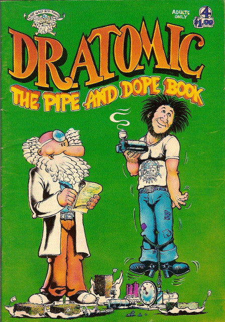 Dr. Atomic # 4 - The Pipe And Dope Book