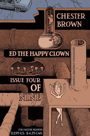 Ed The Happy Clown # 4 - Chester Brown