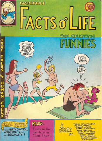 Facts O' Life - Sex Education Funnies, 1st print