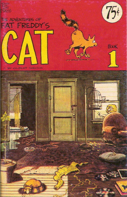 Fat Freddy's Cat # 1, $.75 cp - 1st print