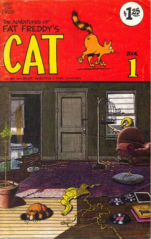 Fat Freddy's Cat # 1, $1.25 cp - 6th print