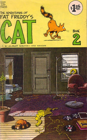 Fat Freddy's Cat # 2, 5th print