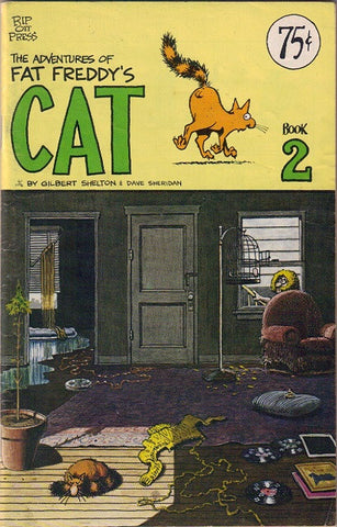 Fat Freddy's Cat # 2, 2nd print