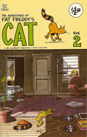Fat Freddy's Cat # 2, 6th print