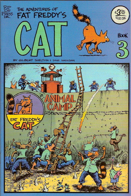 Fat Freddy's Cat # 3, 7th print