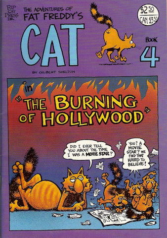 Fat Freddy's Cat # 4, 6th print