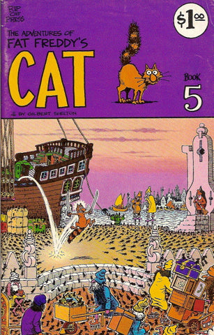 Fat Freddy's Cat # 5, 1st print