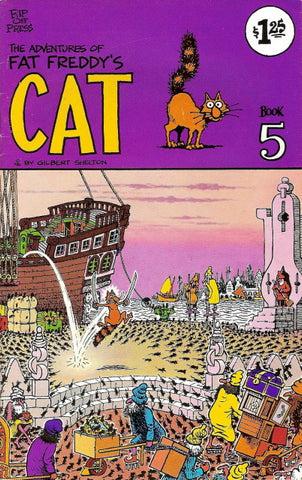 Fat Freddy's Cat # 5, 2nd print