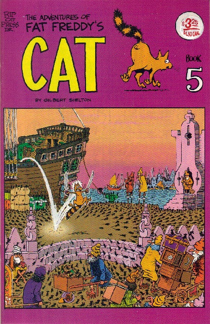 Fat Freddy's Cat # 5, 4th print