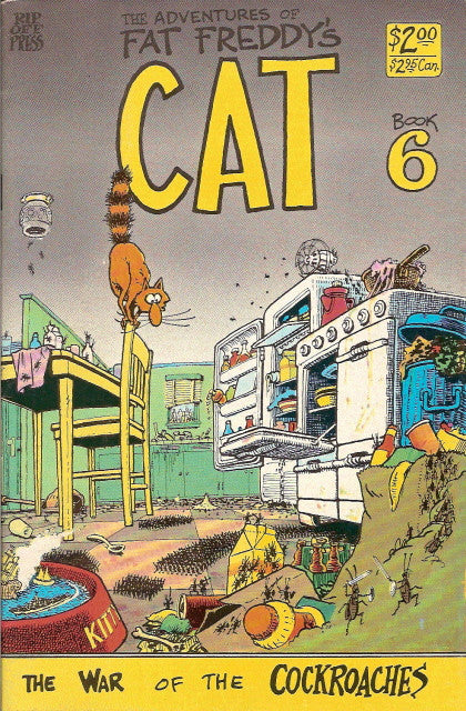 Fat Freddy's Cat # 6, 1st print