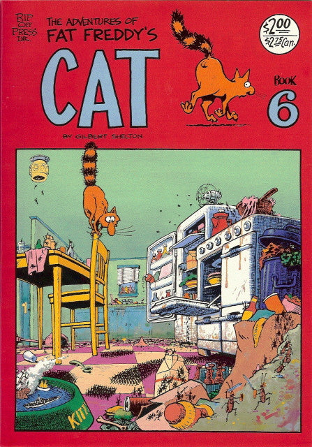 Fat Freddy's Cat # 6, 2nd print