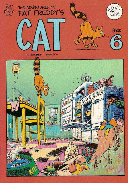 Fat Freddy's Cat # 6, 3rd print