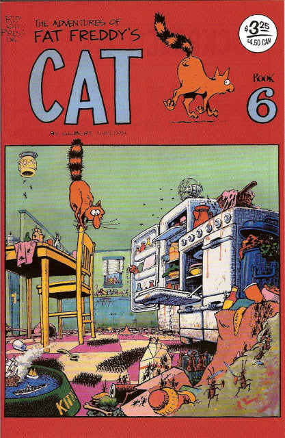 Fat Freddy's Cat # 6, 5th print