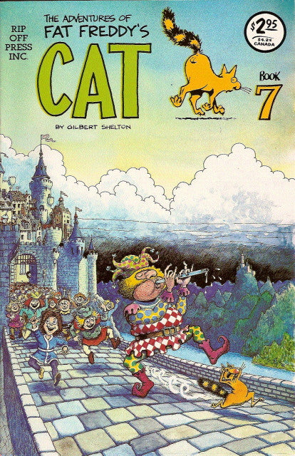 Fat Freddy's Cat # 7