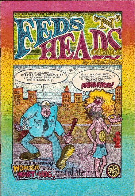 Feds 'n' Heads,  2nd print