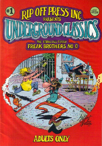 Fabulous Furry Freak Brothers #   0, $2.00 cp - 2nd print